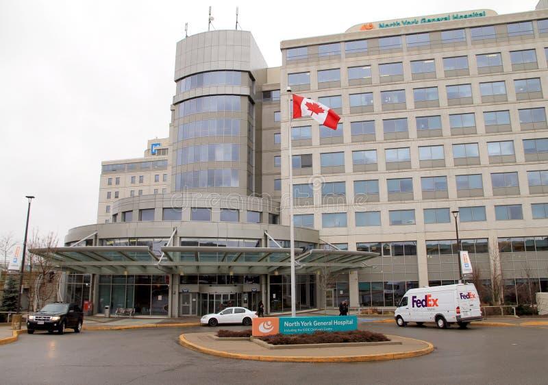 Hospital Geral norte de York fotografia de stock royalty free