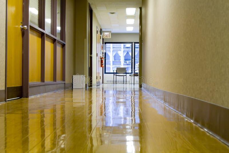 Download Hospital hallway stock photo. Image of fluorescent, hospital - 12002848