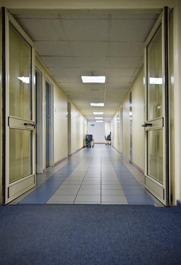 Hospital hallway royalty free stock images