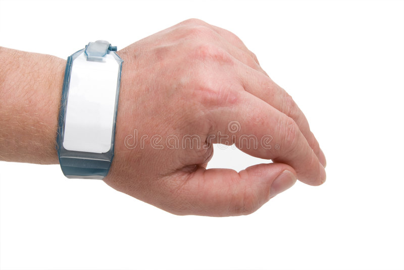 Hospital ID Bracelet royalty free stock photography