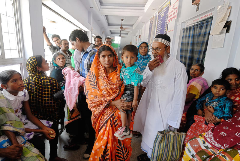 Hospital indiano fotos de stock royalty free