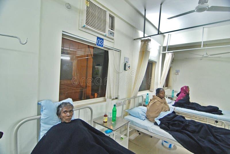 Hospital indio foto de archivo
