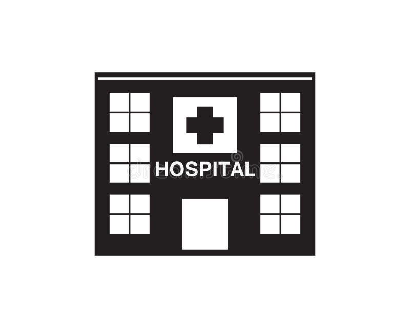 Hospital logo and symbols template vector illustration