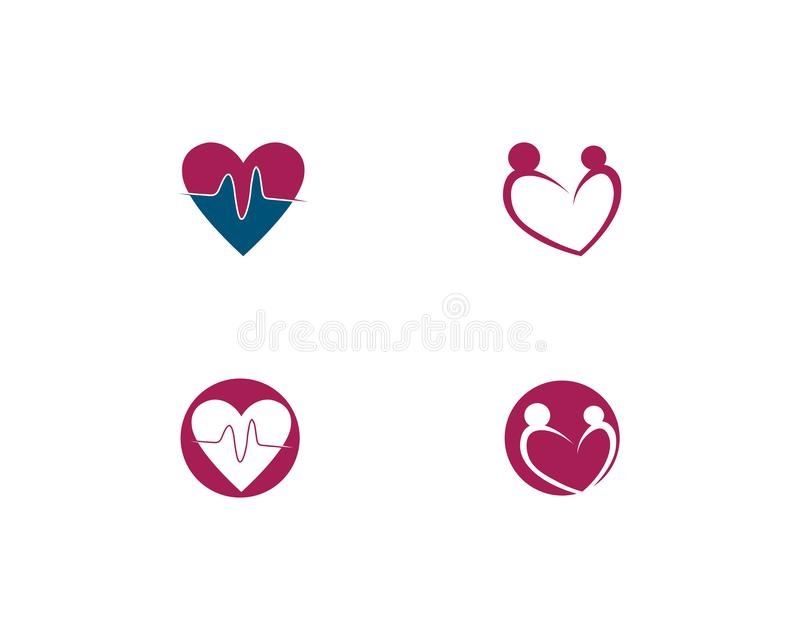 Hospital logo and symbols template icons app. Abstract, alliance, business, button, circle, color, company, computer, concept, connect, corporate, cycle vector illustration