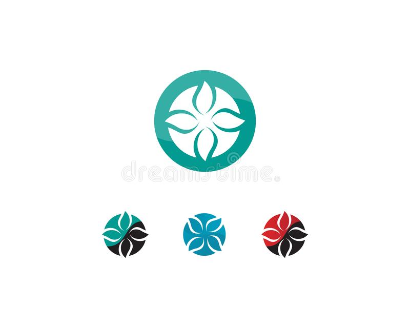Hospital logo and symbols template icons app. Abstract, alliance, business, button, circle, color, company, computer, concept, connect, corporate, cycle stock illustration