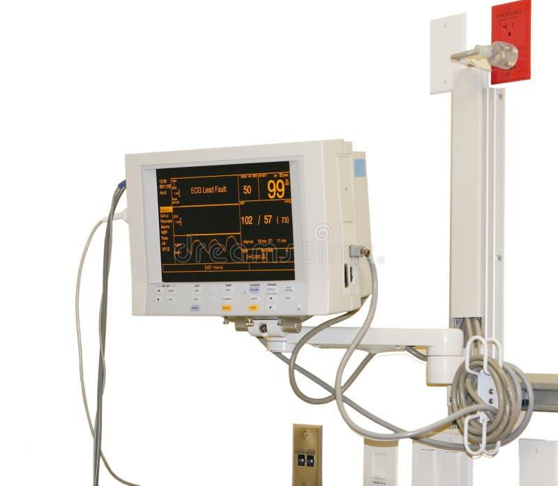 Download Hospital Monitor Stock Image - Image: 5525801