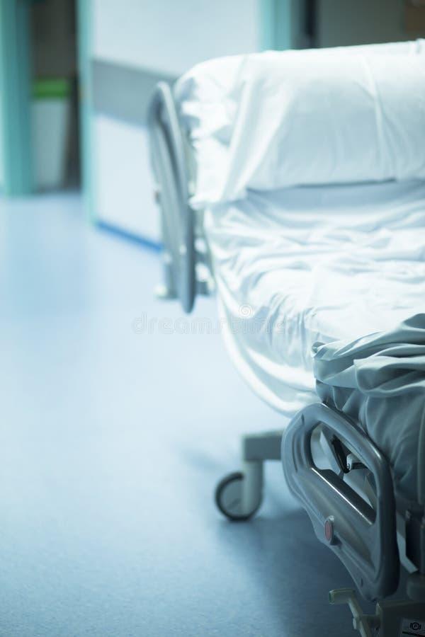 Hospital Procedure Room: Hospital Operating Emergency Room Surgery Bed Stock Photo