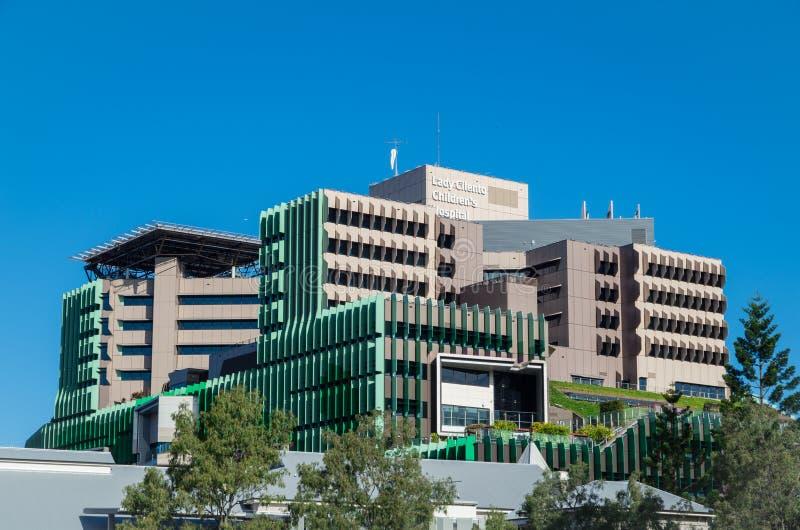 Hospital público do hospital do ` s da senhora Cilento Children em Brisbane, Austrália fotos de stock