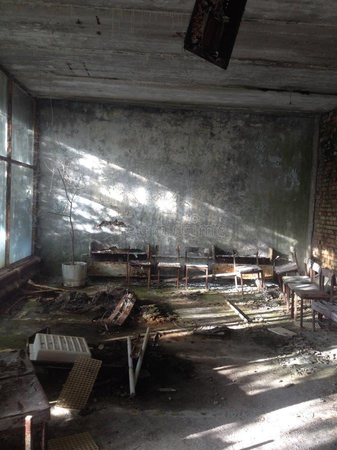 Hospital, Pripyat fotos de stock