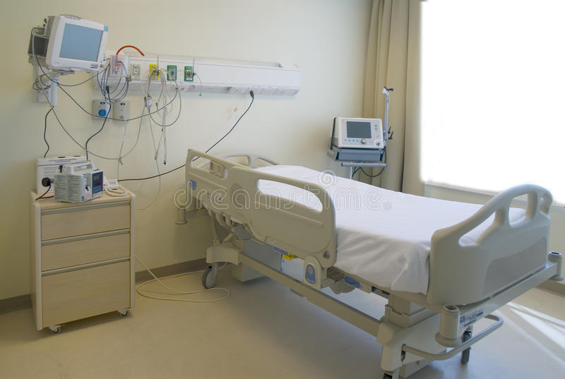 Download Hospital room stock photo. Image of clean, first, disease - 16248272
