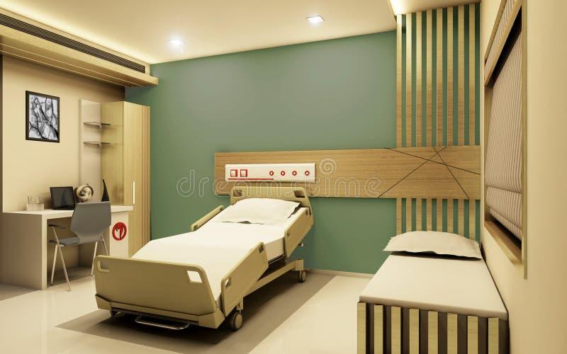 Download Hospital Room Realistic 3D View Stock Illustration - Illustration: 51172772