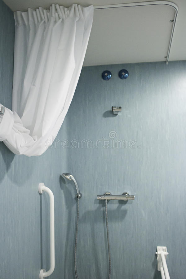 Download Hospital Shower Stock Image. Image Of Disabled, Disability    43428545