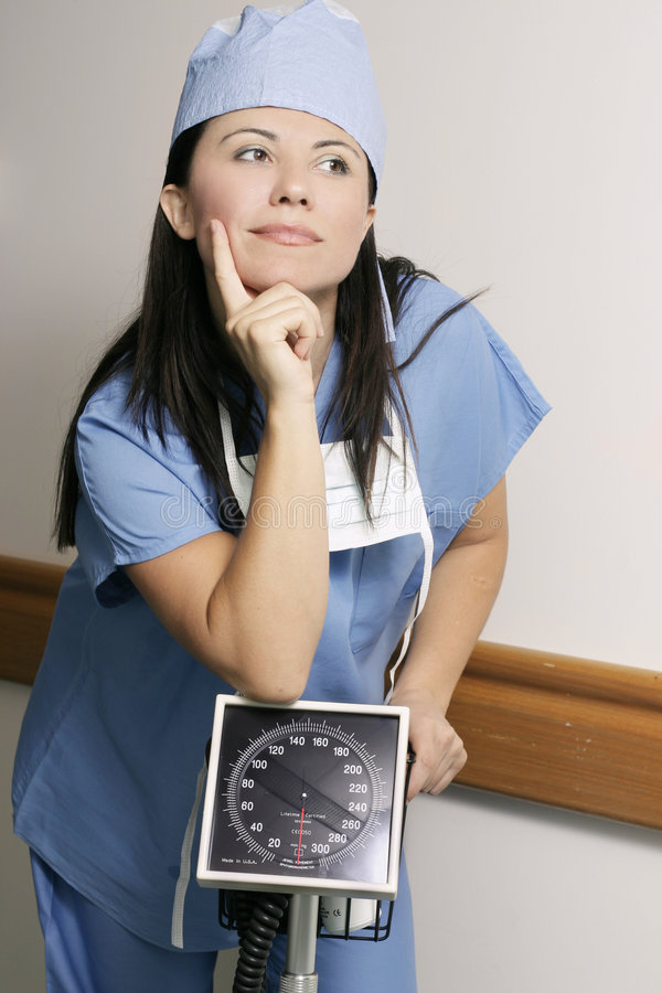 Download Hospital staff in hallway stock photo. Image of professional - 468644