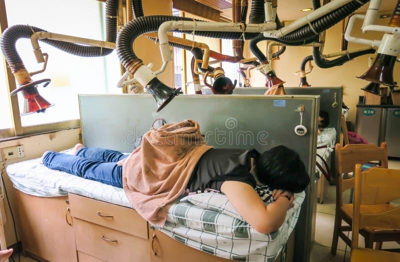 Hospital tradicional da medicina chinesa Guangzhou, China foto de stock