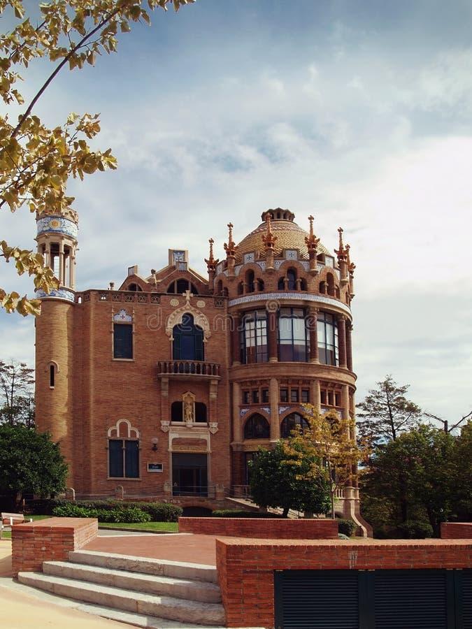 Hospital velho de Barcelona fotos de stock royalty free