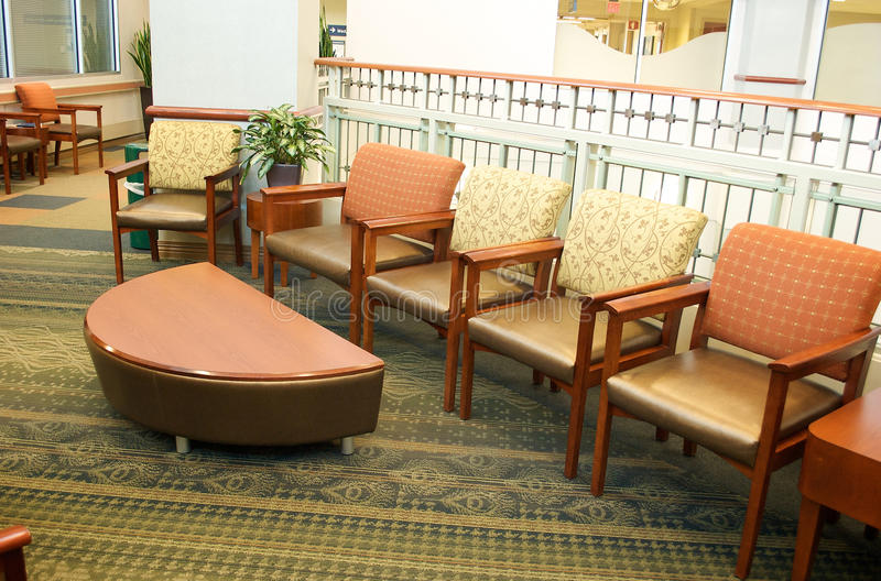 Download Hospital Waiting Room stock image. Image of leather, decorations - 19045765