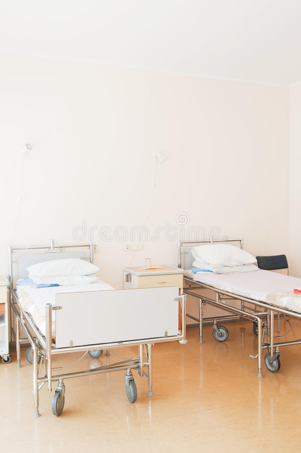 Download Hospital ward with beds stock photo. Image of insurance - 35620836