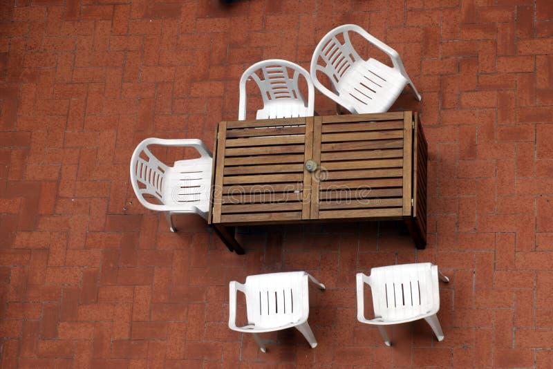 Hospitalidad del verano imagen de archivo
