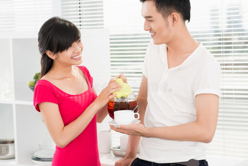Download Hospitality stock image. Image of affectionate, boyfriend - 28361177