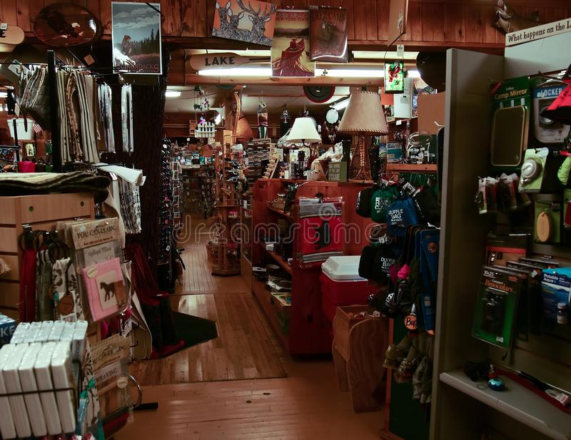 Hosss Country Store Interior Interior Editorial Photo Image Of