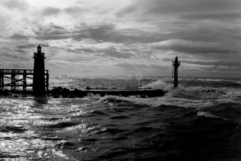 Hossegor-Strand stockfotos