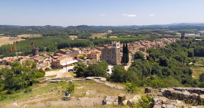 Hostalrich, Girona Espagne photo libre de droits
