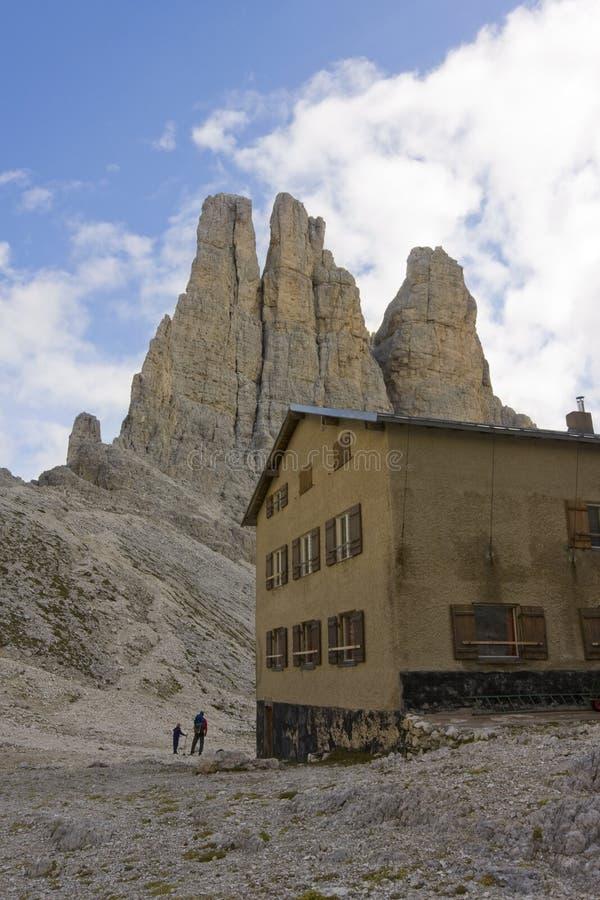 Free Hostel Catinaccio Dolomites Royalty Free Stock Image - 14258046