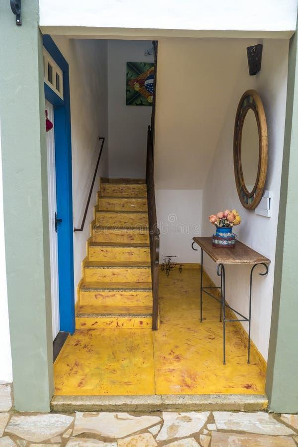 Hostel in Tiradentes stock image