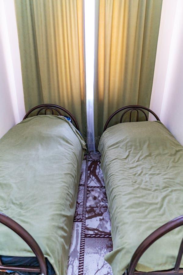 Hostel Twin Bedroom 82 fotografia stock