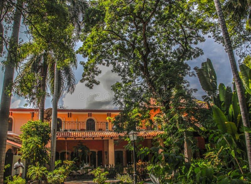 Hostellerie Du Roi Christophe w nakrętce Haitien, Haiti obrazy stock