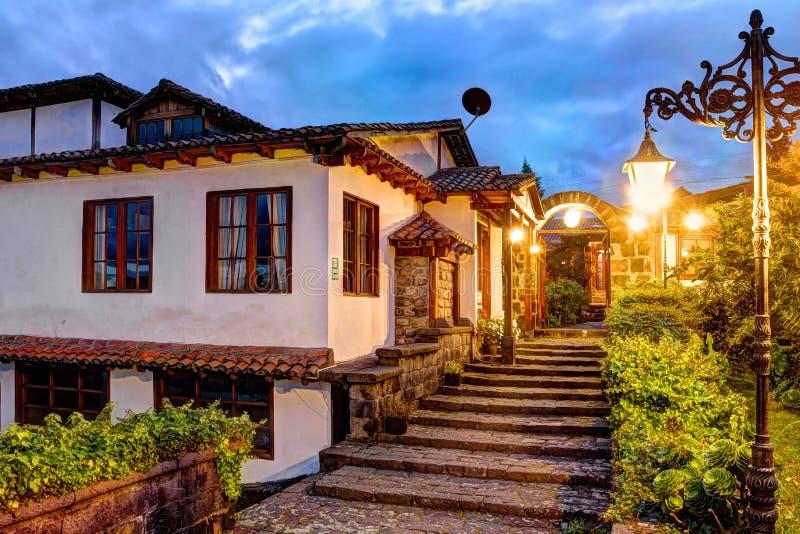 Hosteria Andaluza, Ecuador royalty free stock photography