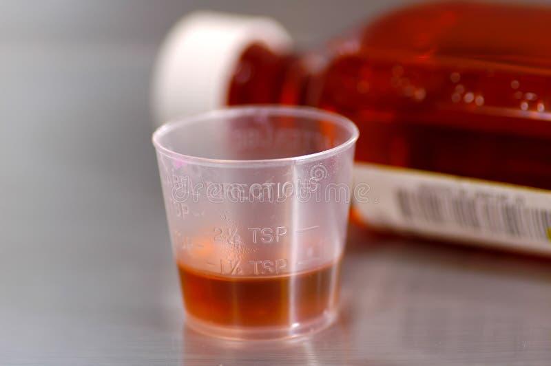 hostmedicin arkivfoto