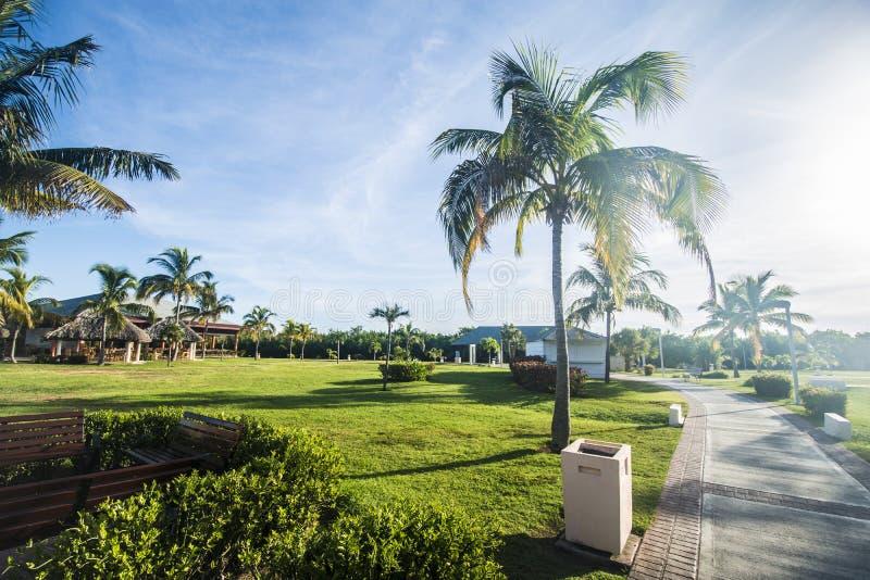 Hotéis e recursos em Varadero, Cuba para passar umas férias perfeitas imagem de stock