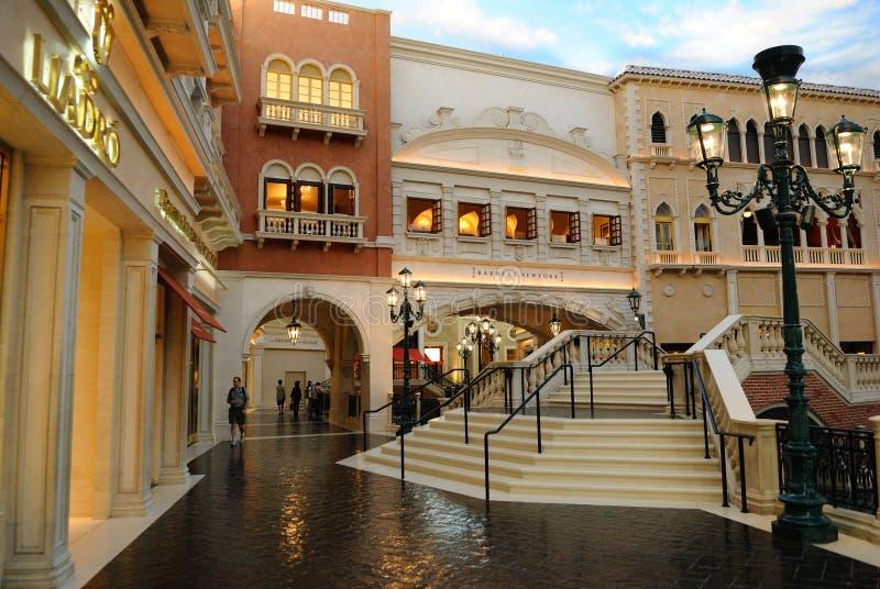 Hotéis em Vegas fotos de stock royalty free