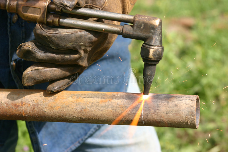 Download Hot stock photo. Image of torch, cutting, hard, steel - 1416764