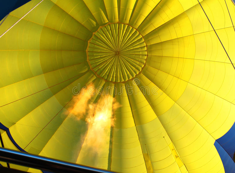 Download Hot air stock photo. Image of aircraft, yellow, flying - 14850288