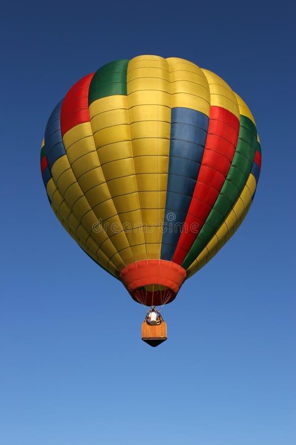 Hot air balloning stock image