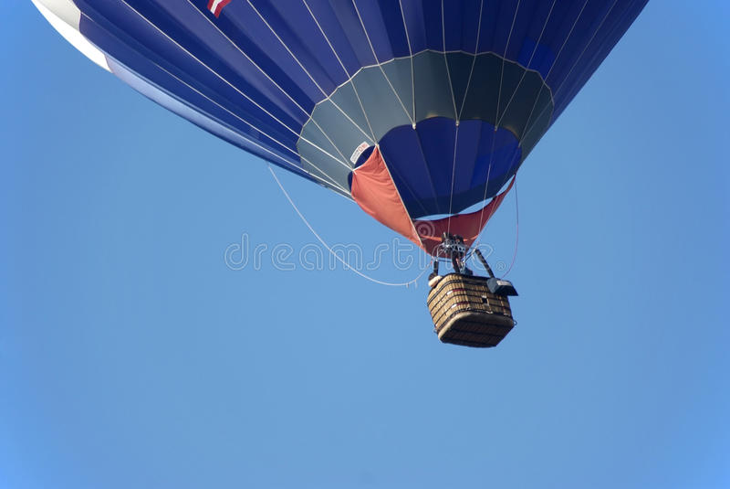 Hot-air balloon stock image