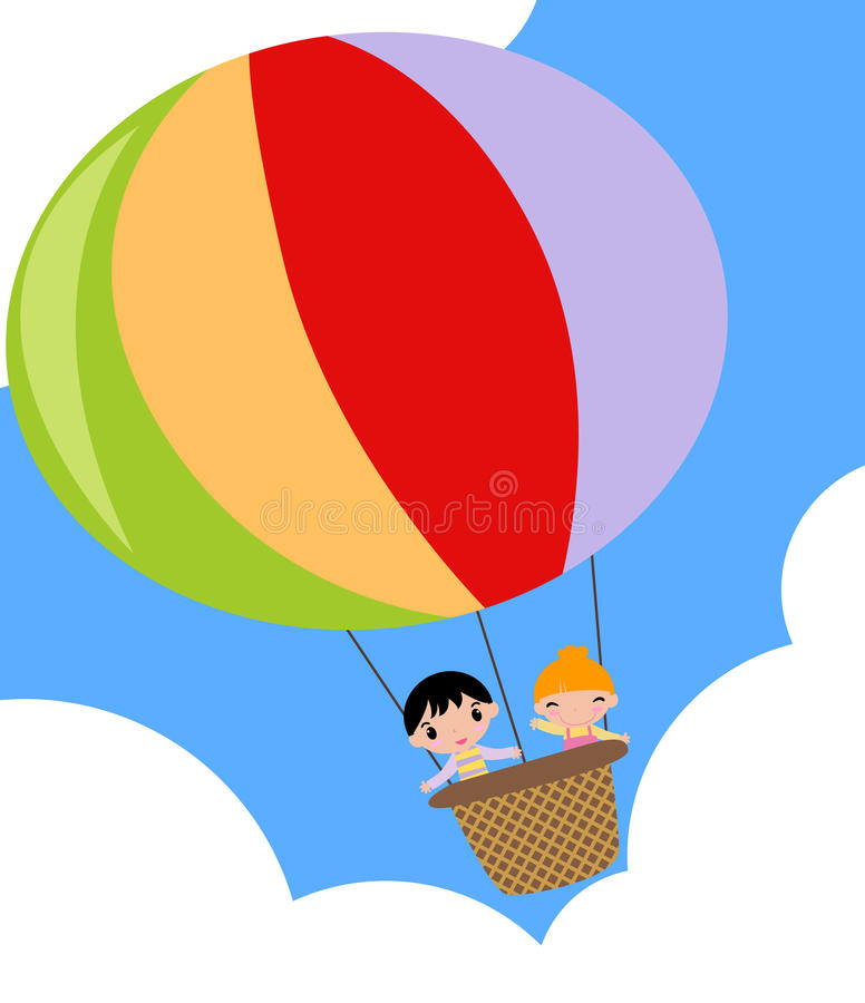 Download Hot air balloon stock vector. Illustration of enjoyment - 13981596