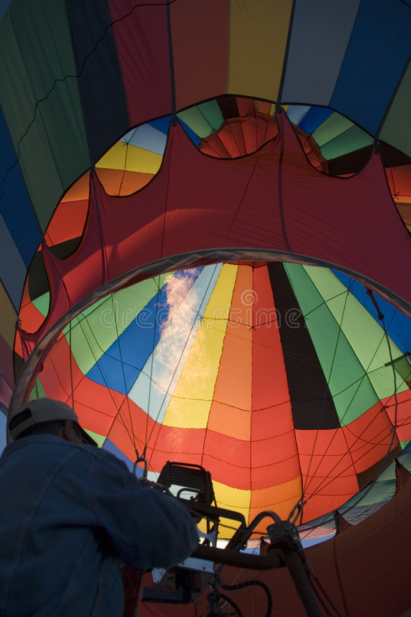 Hot-air balloon royalty free stock image