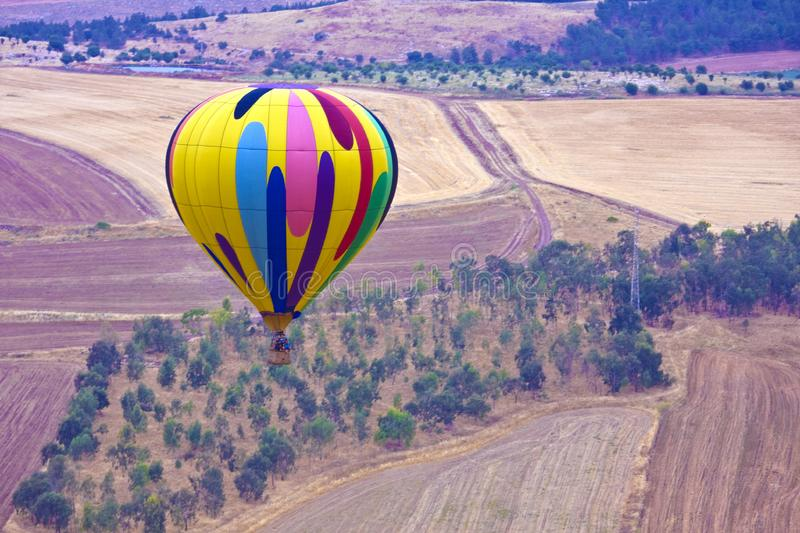 Download Hot air balloon stock image. Image of airial, flying - 14382851