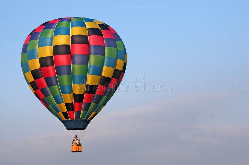 Download Hot Air Balloon stock image. Image of drift, flying, colors - 18877