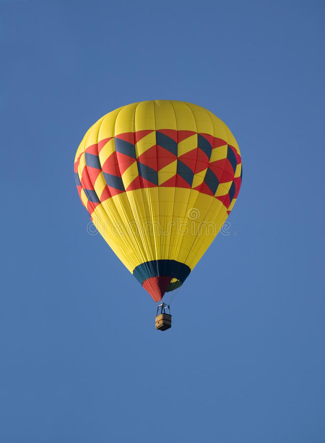 Download Hot air balloon stock image. Image of background, blue - 23316089