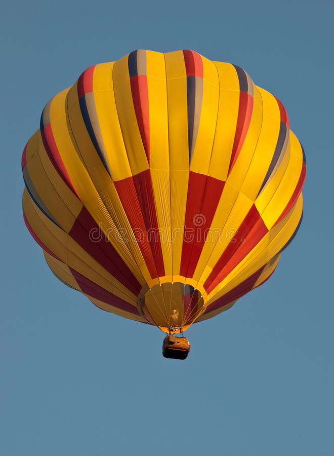 Download Hot air balloon stock photo. Image of ride, yellow, adventure - 24719984
