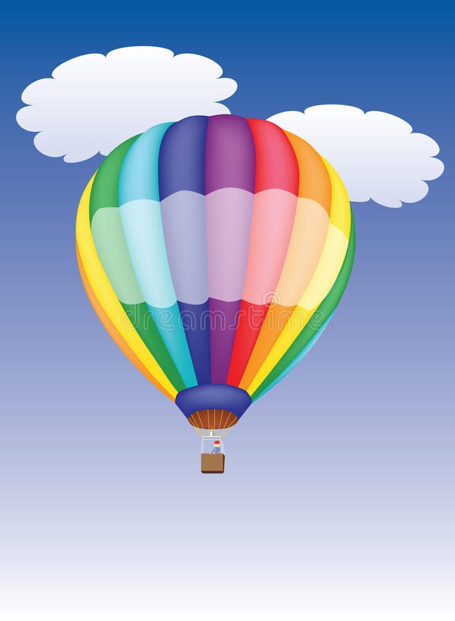 Download Hot air balloon stock vector. Illustration of object - 24872843