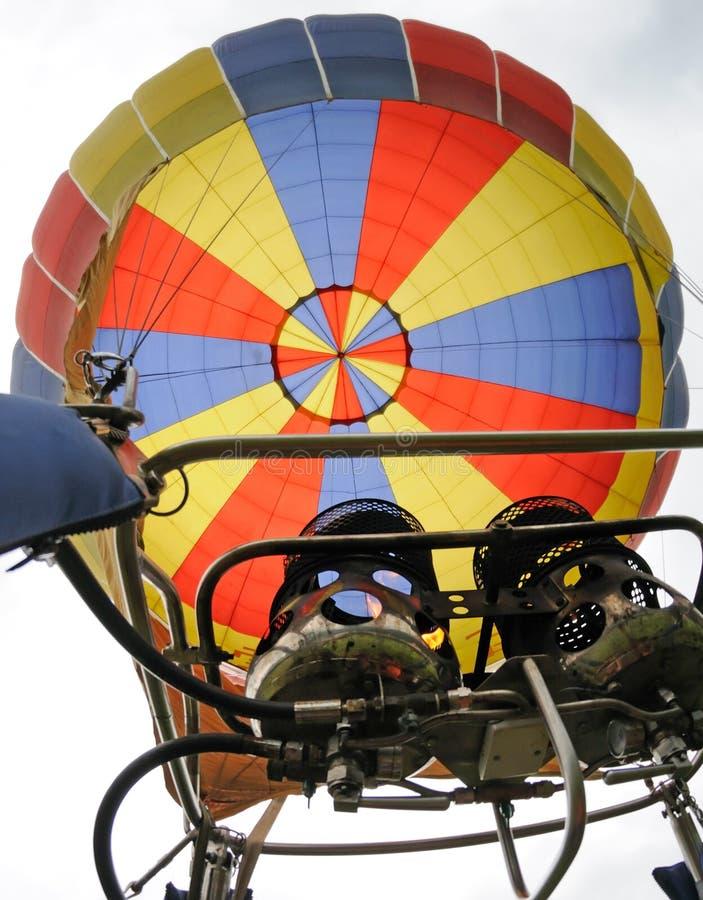 Hot air balloon stock images