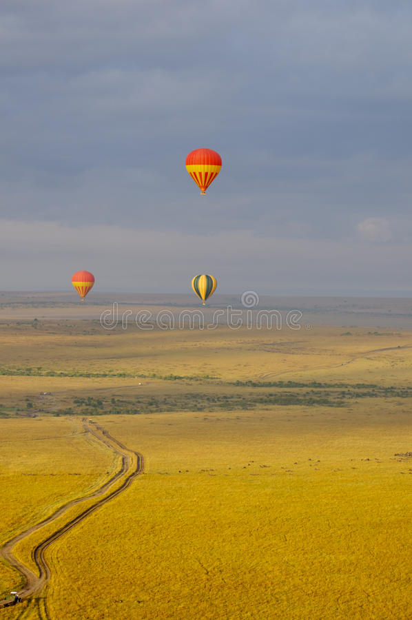 Download Hot air balloon stock photo. Image of blue, baloon, basket - 26445068