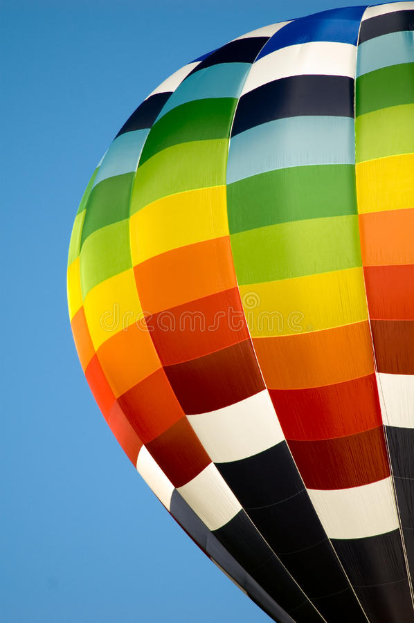 Hot air balloon stock images