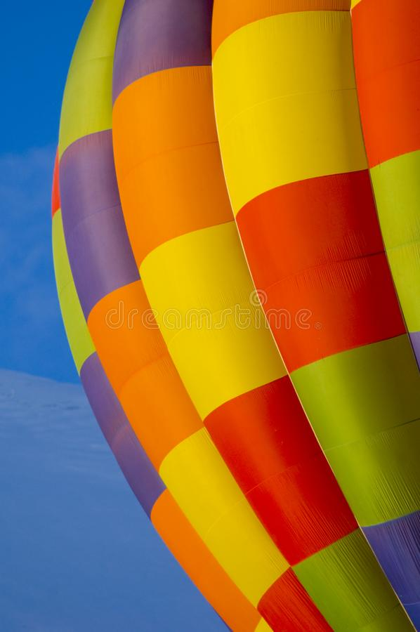 Download Hot air balloon stock image. Image of yellow, winter, colors - 4120211
