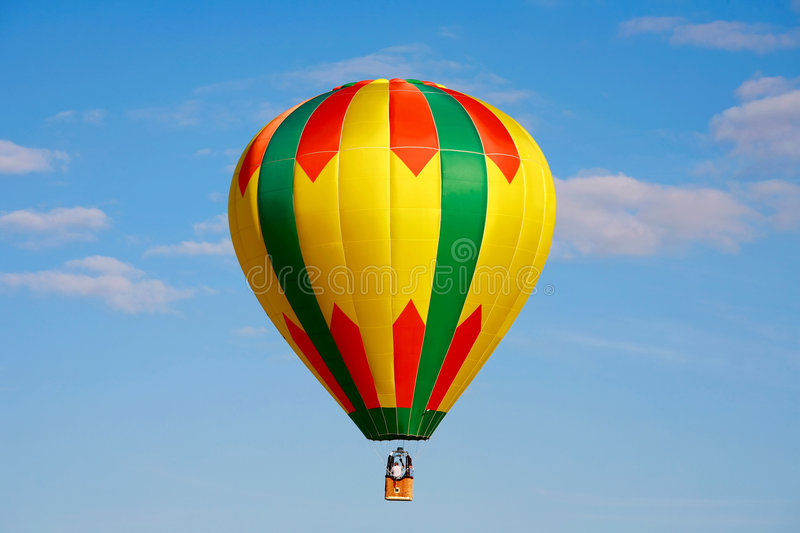 Download Hot Air Balloon stock photo. Image of blue, chase, flying - 4513716